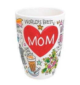 Blond Amsterdam Beker XL Worlds Best Mom 0,5l - Blond Amsterdam