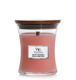 "WoodWick Kaars WoodWick ""Melon & Pink Quartz"" Medium - WoodWick"