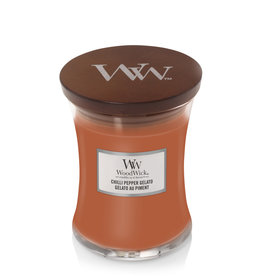 "WoodWick Kaars WoodWick ""Chilli Pepper Gelato"" Medium - WoodWick"