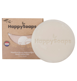 HappySoaps Body Lotion Bar Coco Nuts - HappySoaps