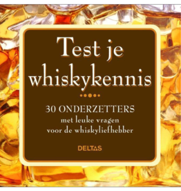 Deltas Test je whiskykennis onderzetters - Deltas