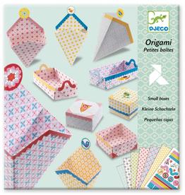 Djeco Origami doosjes maken - Djeco