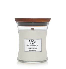 "WoodWick Kaars WoodWick ""Smoked Jasmine"" Medium - WoodWick"