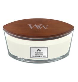 """WoodWick Kaars WoodWick """"Coconut & Tonka"""" Ellipse - WoodWick"""