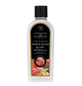 Ashleigh & Burwood White Peach & Lily 250ml Geurlampolie - Ashleigh & Burwood