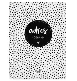 Zoedt Adresboek A6 - Zoedt
