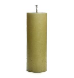 Rustik Lys Buiten PilaarKaars 10x28cm Eucalyptus - Rustik Lys