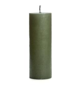 Rustik Lys Buiten PilaarKaars 10x28cm Stone - Rustik Lys