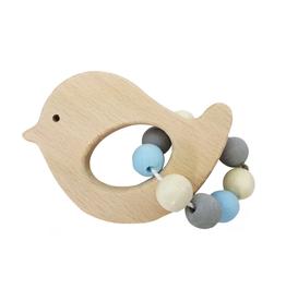 Hess Rammelaar vogel (naturel/blauw) - Hess