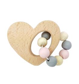 Hess Rammelaar hart (naturel/roze) - Hess