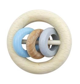 Hess Rammelaar met 3 ringen (naturel/blauw) - Hess