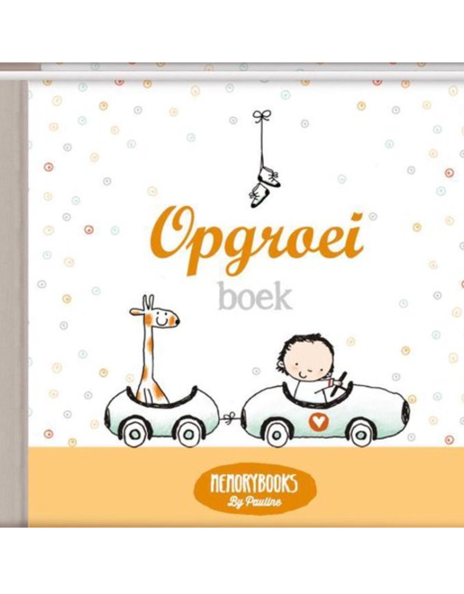 Pauline Oud Memorybooks by Pauline - Opgroeiboek 1t/m 4 Jaar