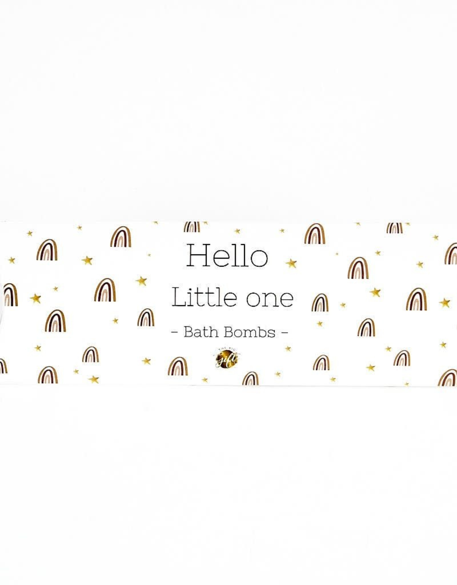 "The Big Gifts Gondeldoosje (voeten) Bath bombs ""Hello Little One"" - The Big Gifts"