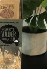 """The Big Gifts Maak je eigen Bier Speciaal Pakket """"De Leukste Vader dat ben Jij"""" - The Big Gifts"""