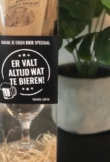 """The Big Gifts Maak je eigen Bier Speciaal Pakket """"Er valt altijd wat te Bieren"""" - The Big Gifts"""