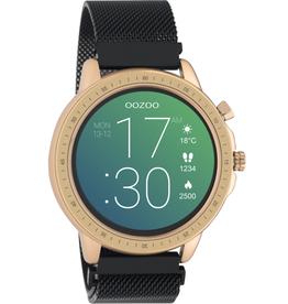 OOZOO Smartwatch Q00308 45mm Zwart/Rosé - OOZOO
