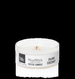 """WoodWick Kaars WoodWick """"Island Coconut"""" Petite - WoodWick"""