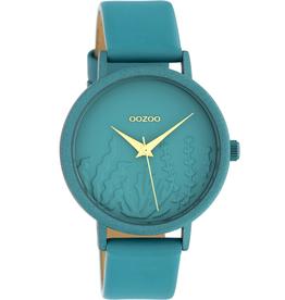 OOZOO Horloge C10606 36mm Viridian groen - OOZOO