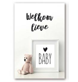 Welkom Lieve Baby - Wenskaart Urban Jungle