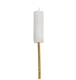 Rustik Lys Fakkel Wit 3,8x12cm - Rustik Lys