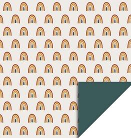 House of Products Inpakpapier Rainbow Dubbelzijdig 70cmx3m