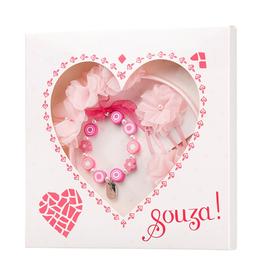 Souza! Cadeauset Hart roze fuchsia - Souza