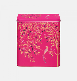 Blik vogel roze 19x11x23cm - Sara Miller