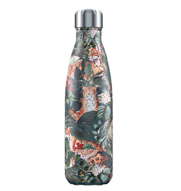 Chilly's Bottles Chilly's Bottle Tropical Leopard 500ml - Chilly's Bottles