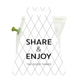 LIV 'N TASTE Share & Enjoy The Good Things - TeaBrewer Gift