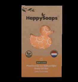HappySoaps Baby & Kids Body Oil Bar Little Sunshine - HappySoaps