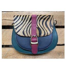 Booming Bags Zadeltasje 22x18cm met Schouderband ZS001 - Booming Bags