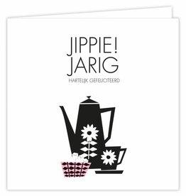 Jippie! Jarig - Wenskaart Suus