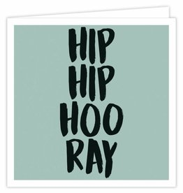 Hip Hip Hooray - Wenskaart Suus