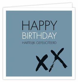 Happy Birthday - Wenskaart Suus