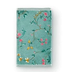 Pip Studio Gastendoekje Les Fleurs 30x50cm groen - Pip Studio