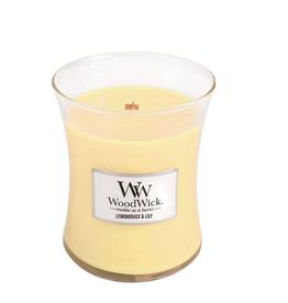 "WoodWick Kaars WoodWick ""Lemongrass & Lily"" Medium - WoodWick"