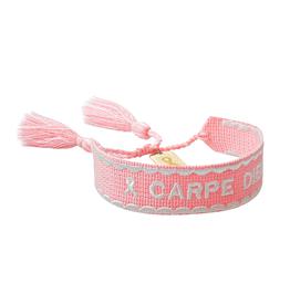 "Blond Amsterdam Pink Ribbon Armband ""Carpe Diem"" - Blond Amsterdam"