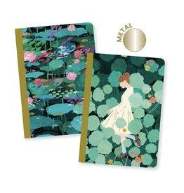 """Djeco Set van 2 Notitieboeken """"Xuan"""" - Djeco"""