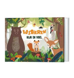 Kijk en voel - Bosdieren - Lantaarn Publishers