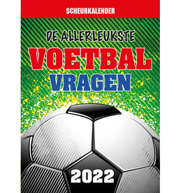 Scheurkalender 2022 De allerleukste Voetbalvragen