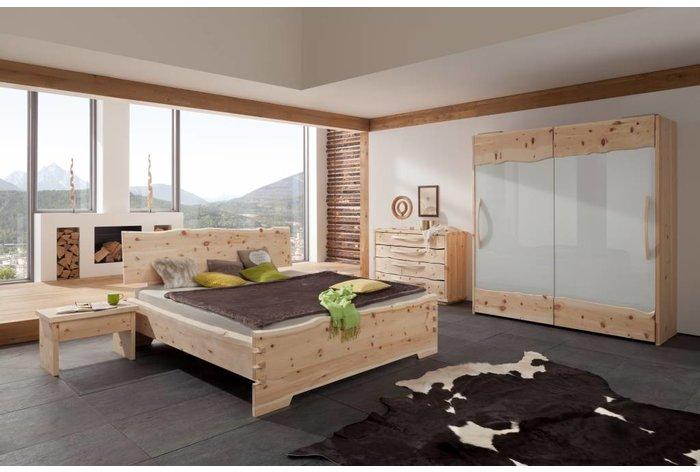Massief houten bed Roos (hout: zirben / alpenden / zirbe)