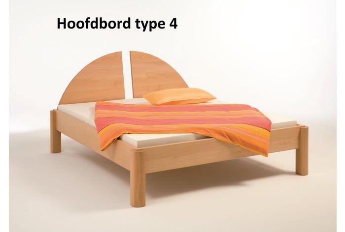 Metaalvrij bed Sopra - hoofdbord type 4