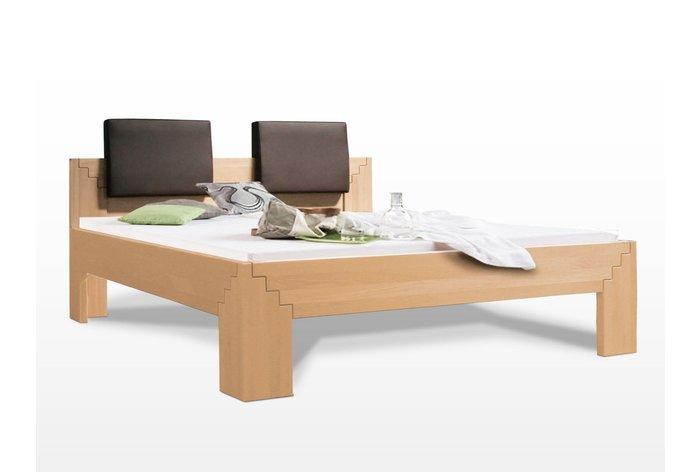 Massief houten bed Avalon (hout: beukenhout)