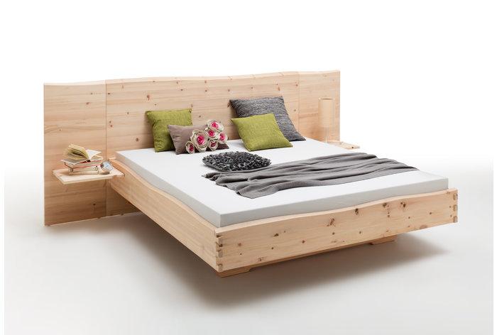 Massief houten bed Ortisei (hout: zirben / alpenden / zirbe)