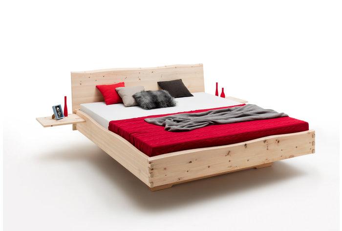 Massief houten bed Albula (hout: zirben / alpenden / zirbe)