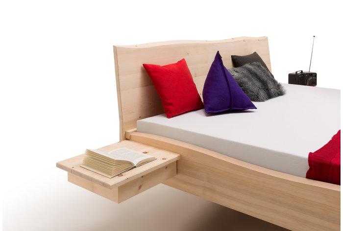 Aanhang nachtkastjes (massief zirben) tegen meerprijs verkrijgbaar