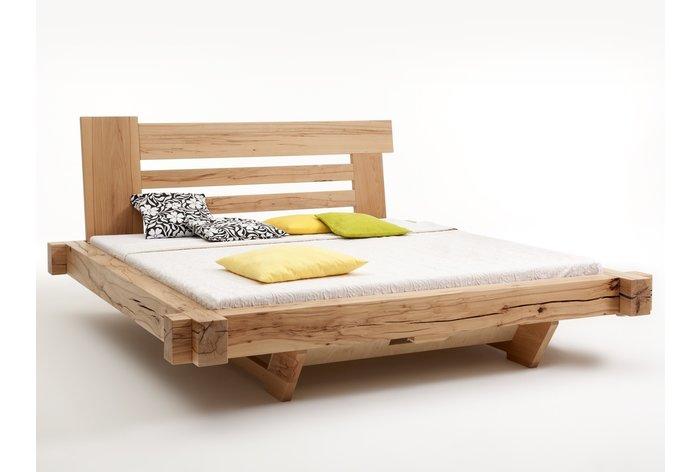 Massief houten bed Bozen (hout: kernbeuken)
