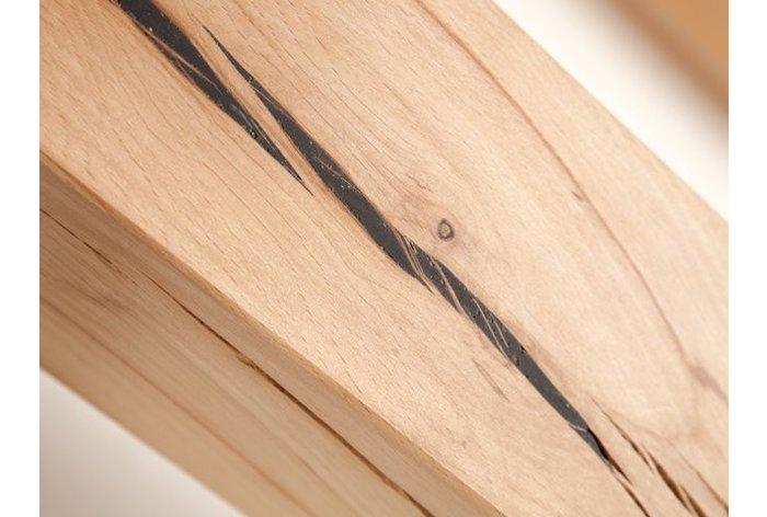 Het hout is subliem afgewerkt - beter wordt het niet