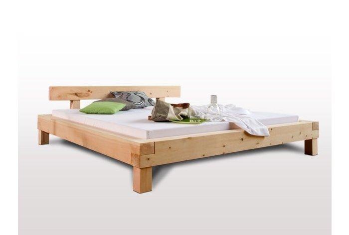 Massief houten bed Herisau II (hout: zirben / alpenden / zirbe)
