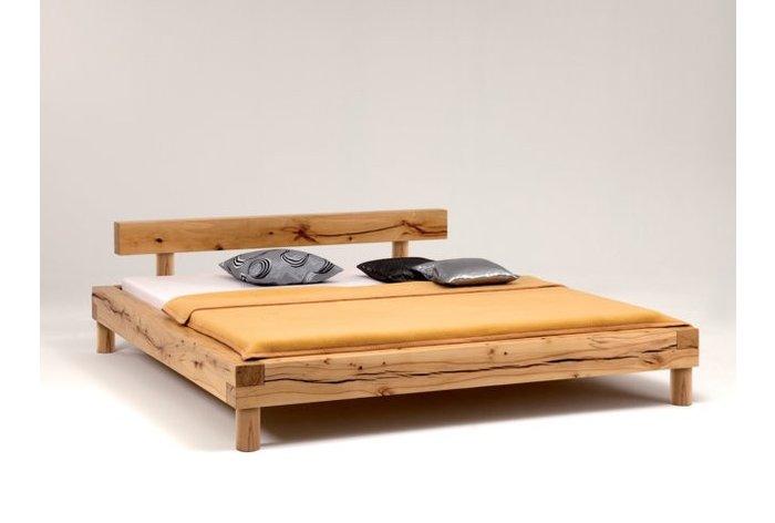 Massief houten bed Appenzell (hout: kernbeuken)